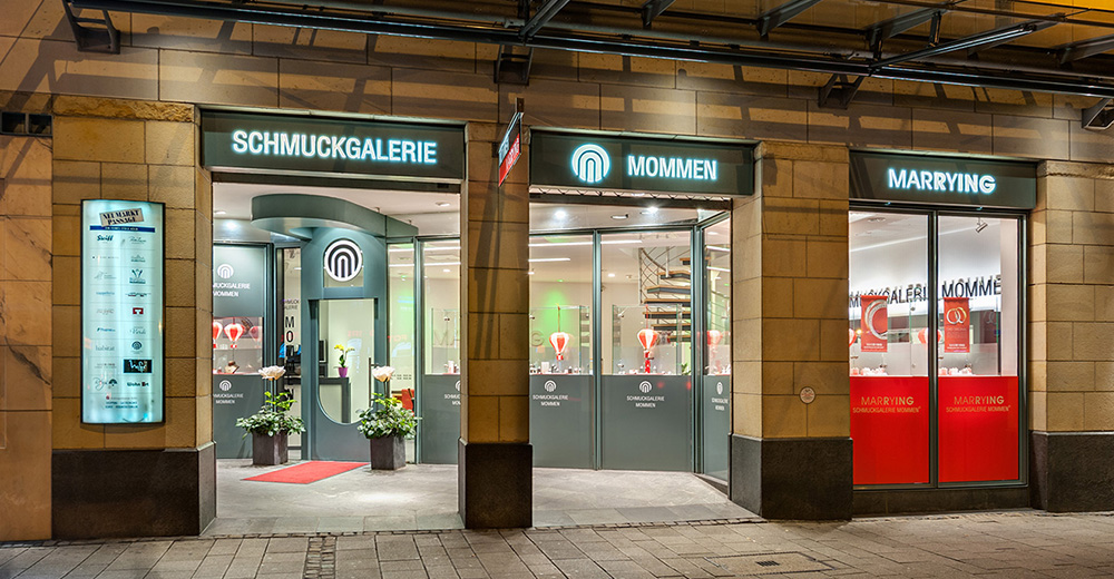 Juwelier in Köln: Schmuckgalerie Mommen