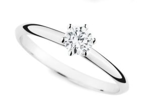 Der klassische Verlobungsring