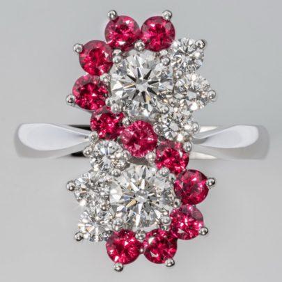 Rubinring mit Brillanten vom Juwelier in Köln