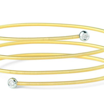 flexibles Armband mit Brillanten in Gold von Juwelier Mommen in Köln