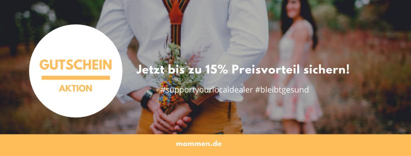Gutschein Aktion – support your local dealer