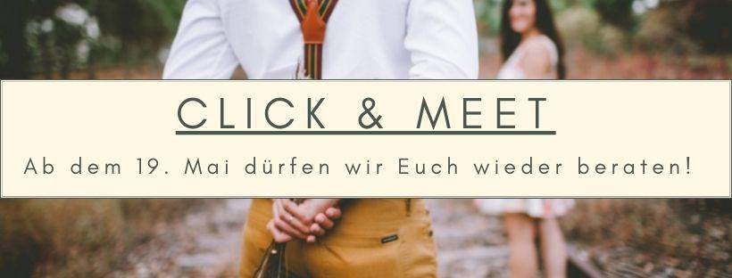 Ab dem 19. Mai click & meet bei Juwelier Mommen in Köln.